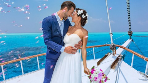 Wedding On A Yacht wallpapers high quality