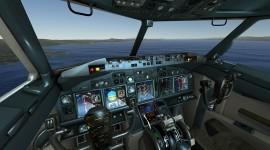 Airplane Simulator Desktop Wallpaper HD
