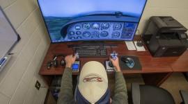 Airplane Simulator Wallpaper Background