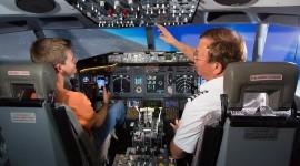 Airplane Simulator Wallpaper Download Free