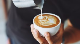 Cappuccino Photography Wallpaper Download Free