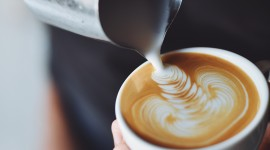 Cappuccino Photography Wallpaper For IPhone Free