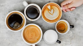 Cappuccino Photography Wallpaper Free