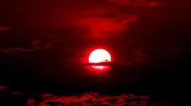 Scarlet Sunset Desktop Wallpaper HD
