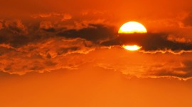 Scarlet Sunset Photo Download