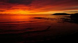 Scarlet Sunset Photo Free