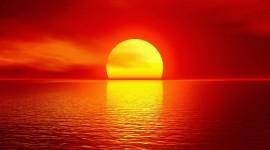 Scarlet Sunset Wallpaper Background