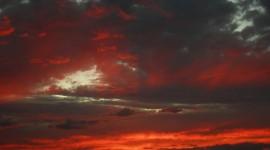 Scarlet Sunset Wallpaper Download