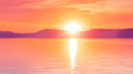 Scarlet Sunset Wallpaper For Mobile