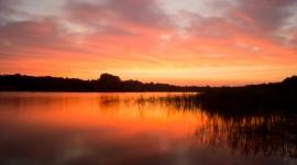 Scarlet Sunset Wallpaper Free