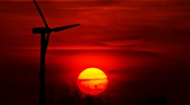 Scarlet Sunset Wallpaper Full HD