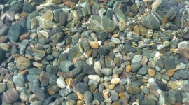 Stones In Water Photo