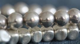 4K Ball Cubes Metal Photo Free