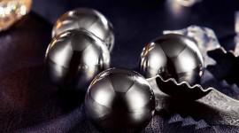 4K Ball Cubes Metal Wallpaper HQ#1