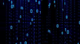 4K Binary Code Photo Download