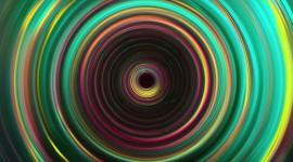 4K Colored Circles Photo