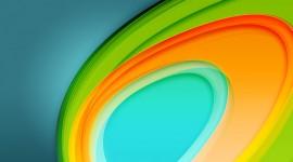 4K Colored Circles Wallpaper For Desktop
