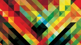 4K Geometric Pattern Image