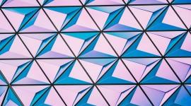 4K Geometric Pattern Photo Free