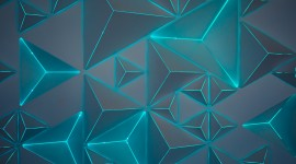 4K Geometric Pattern Wallpaper