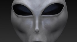 Alien Face Wallpaper For IPhone Free