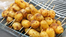 Barbecue Potatoes Desktop Wallpaper