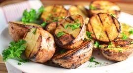 Barbecue Potatoes Photo