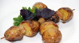 Barbecue Potatoes Photo Free