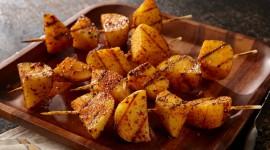 Barbecue Potatoes Wallpaper