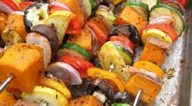 Barbecue Potatoes Wallpaper For IPhone