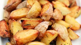 Barbecue Potatoes Wallpaper For Mobile