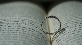 Book Ring Heart Photo
