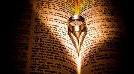 Book Ring Heart Photo Download