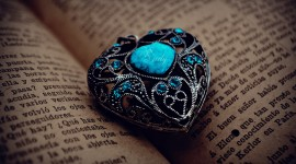 Book Ring Heart Photo Free