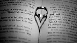 Book Ring Heart Wallpaper For PC