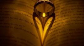 Book Ring Heart Wallpaper Free