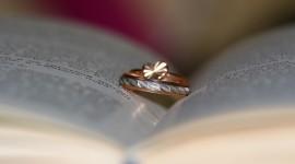Book Ring Heart Wallpaper Full HD