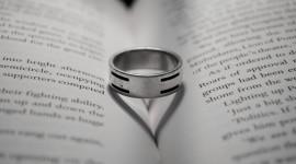 Book Ring Heart Wallpaper HQ