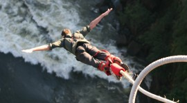 Bungee Jumping Desktop Wallpaper For PC