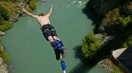 Bungee Jumping Desktop Wallpaper Free