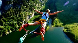 Bungee Jumping Wallpaper 1080p