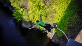 Bungee Jumping Wallpaper Background