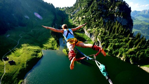 Bungee Jumping wallpapers high quality