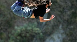 Bungee Jumping Wallpaper For IPhone