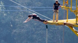 Bungee Jumping Wallpaper High Definition