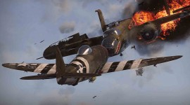 Burning Plane Wallpaper Download