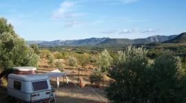 Camping In Spain Desktop Wallpaper HD