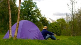 Camping In Spain Wallpaper For PC