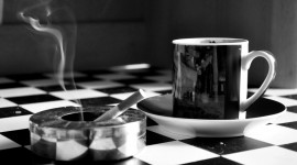 Coffee And Cigarettes Photo Free