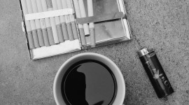 Coffee And Cigarettes Wallpaper For Android